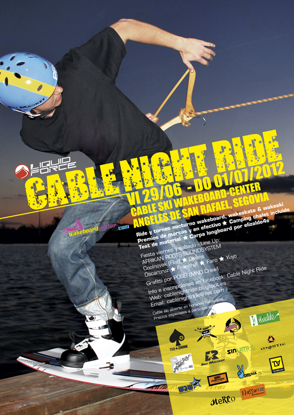 Cable Night Ride - Wakeboard Festival
